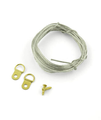 Wire frame hanger kit small