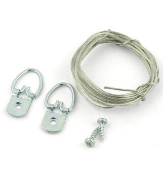 Wire frame hanger kit medium