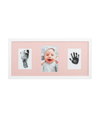 baby frame pink double inkpad
