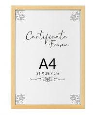 A4 classic quality frame