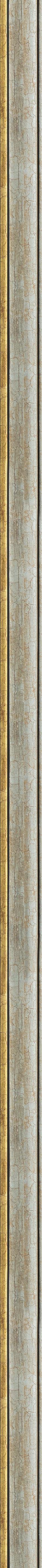 Cracked silver frame frame