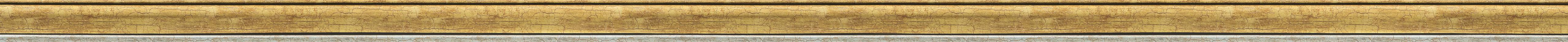 Cracked gold frame frame