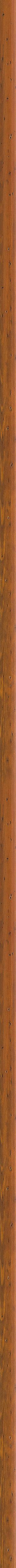 Curved aged walnut frame frame