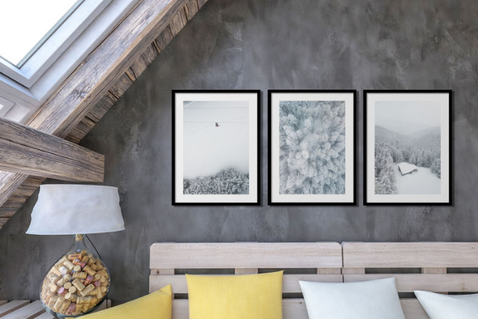 The importance of having art in your home article cover image