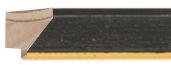 CONTEMPORARY HANDMADE BLACK FRAME frame piece