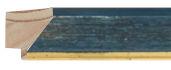 CONTEMPORARY HANDMADE BLUE FRAME frame piece