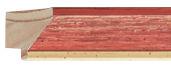 CONTEMPORARY HANDMADE RED FRAME frame piece