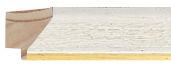 CONTEMPORARY HANDMADE WHITE FRAME frame piece