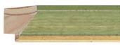 CONTEMPORARY HANDMADE GREEN FRAME frame piece